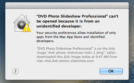 How to Install DVD Photo Slideshow on OS X 10 8 and 10 9