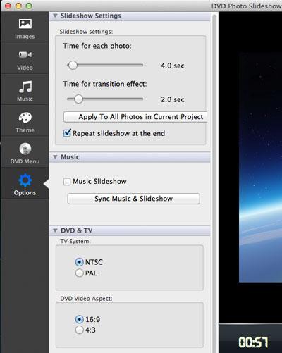 How to Burn Photo Slideshow DVD on Mac OS X