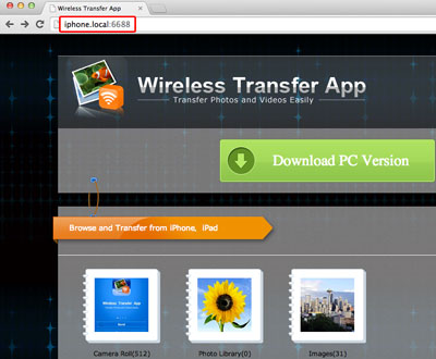 transfer photos and videos from iphone to mac